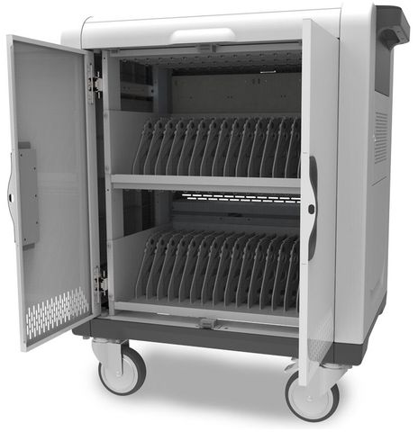 Vrova Smartbox 32-bay tablet sync & charge trolley