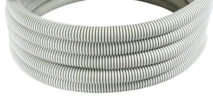 50mx16mm Grey corrugated cable conduit