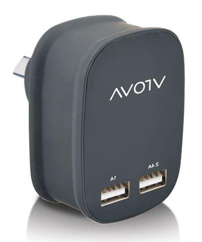 2-Port USB mains charger 5V