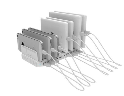 10-Port USB charging station 96W total power