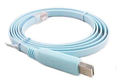 1.8m RJ45 to USB CISCO console compatible cable