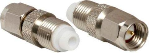 FME female to SMA plug adapter