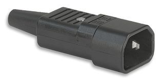 C14 10A Inline plug Schurter Australian certification
