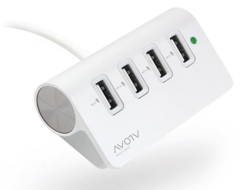 4-Port USB charger 4x2.4A outputs Alogic Vrova