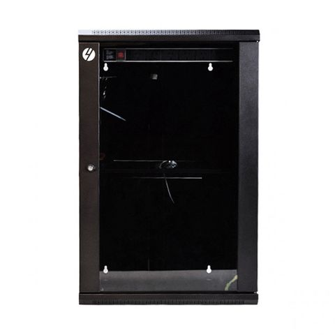 18RU 600x450mm wxd wallmount server rack