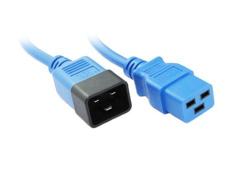 IEC19 - IEC20 16A cables blue