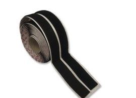 Velcro Stick On Hook and Loop black Adhesive Tape - 20mm x 5m