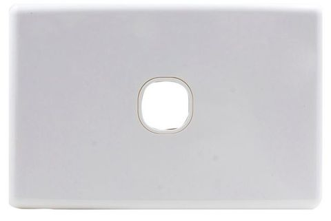 1-Gang Clipsal style wallplate