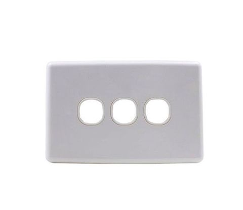 3-Gang Clipsal style wallplate