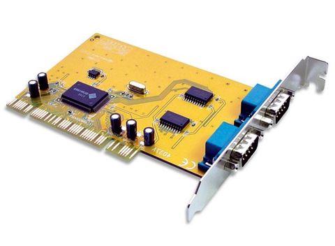 PCI 2-Port serial card DB9 Sunix