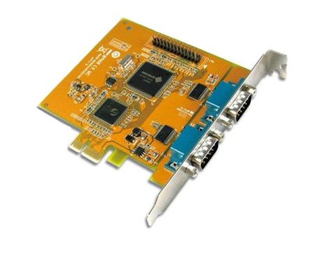PCI Express serial & parallel combo card