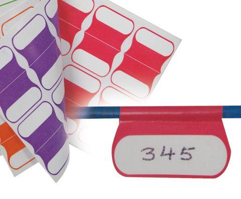Cable identification labels multicolour 100 pk