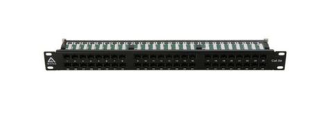 Cat6 48-port patch panel High Density 1 RU