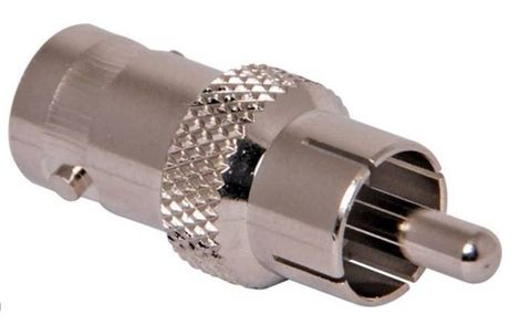 BNC to RCA connector F-M
