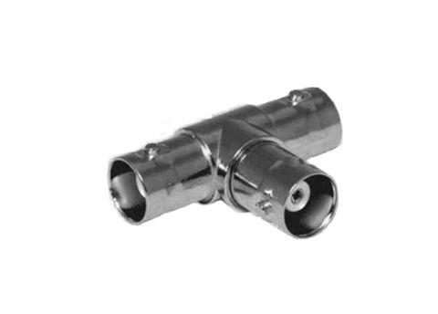 BNC T-adapter F-2x F