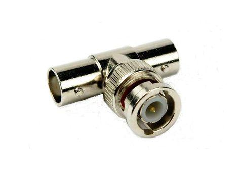 BNC T-adapter M-2x F