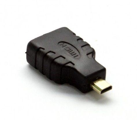 HDMI to micro-HDMI adapter block F-M