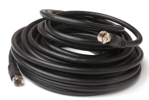 1.8m RG6Q F-type tv antenna cable M-M