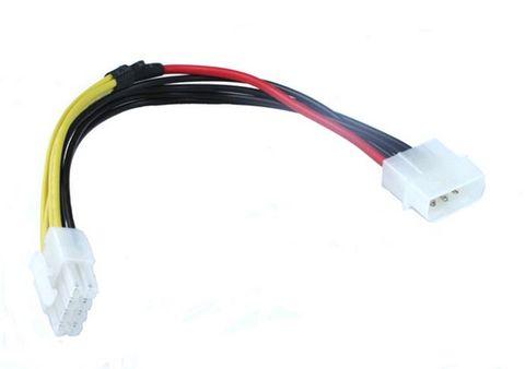 EPS 12V 8-pin to Molex 4-pin 15CM EPS 8Pin To Molex 4Pin Cable