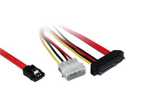 0.7m Internal SAS 29-pin to Molex & SATA