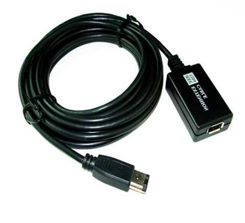 5m FireWire 800 1394A active repeater cable 6P M-F