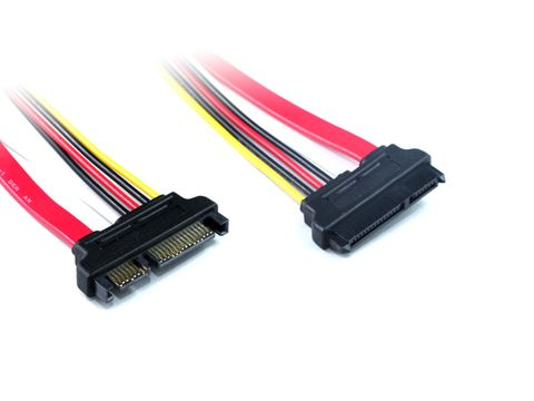 30cm SATA3 Data and power extension cable