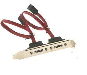 SATA2 Dual port bracket