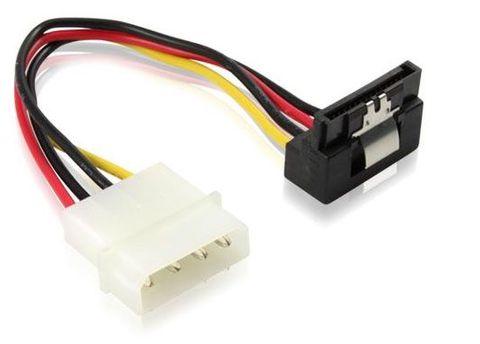 15cm Molex to SATA2 right angle power cable