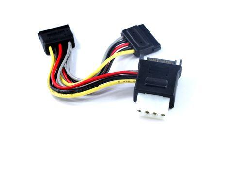 15cm SATA2 Power to dual SATA power cable