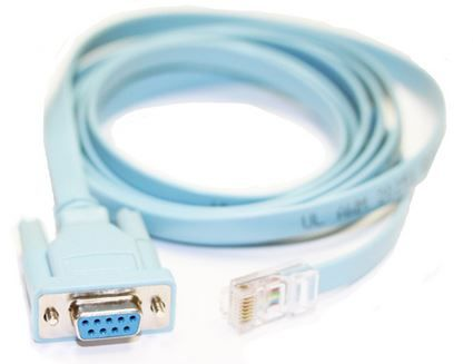 RJ45 to DB9F CISCO Console cable - 2m