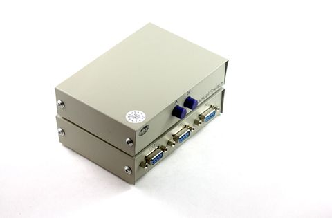 Manual dataswitch 1:2 DB9F