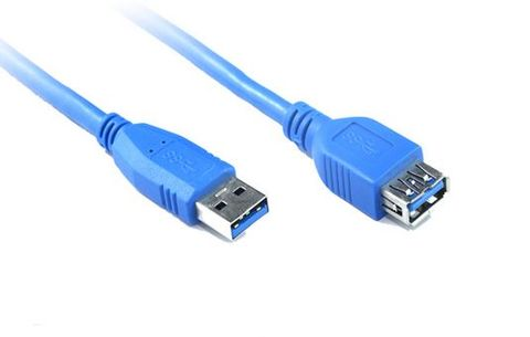 2m USB type A 3.0  to USB-A extension cable M-F
