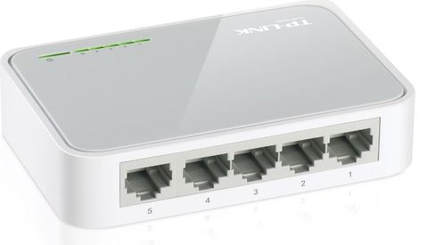 5-Port 10-100 ethernet switch