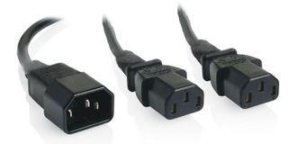 IEC Y-splitter cables