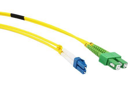 10m LC-SCA OS2 SM duplex premium fibre lead