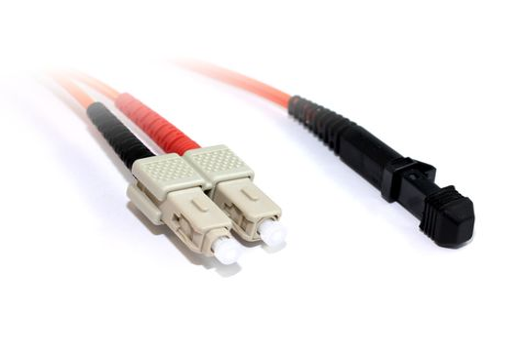 2m MTRJ-SC OM1 MM duplex premium fibre lead