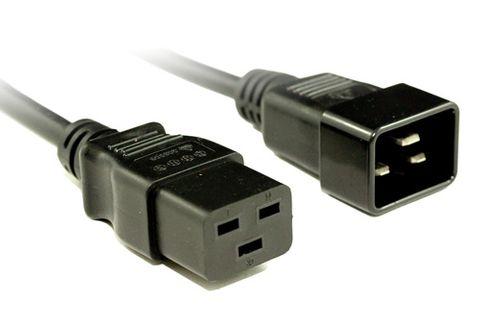 IEC19 - IEC20 16A cables black