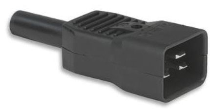 C20 16A Inline plug Schurter