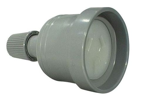 GPO socket 10A grey