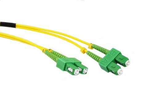 10m SC-SCA OS2 SM duplex premium fibre lead