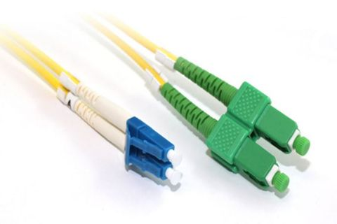 20m SC-SCA OS2 SM duplex premium fibre lead