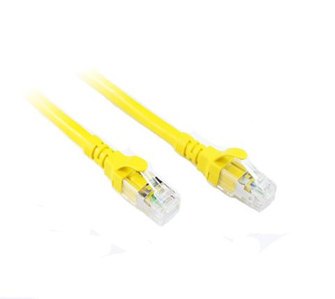 Cat6A Cables Konix YELLOW