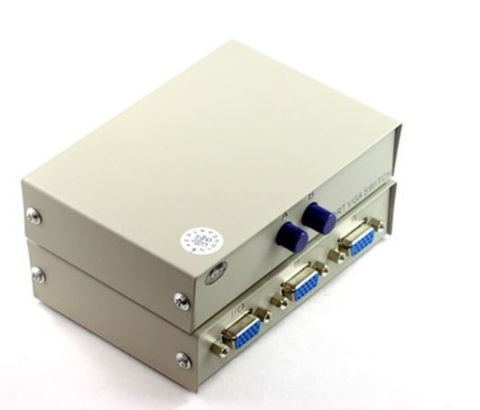 2-in-1 SVGA manual switch