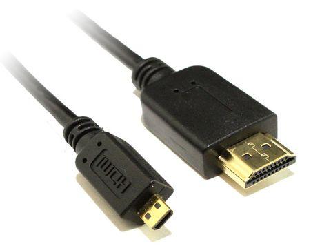 0.5m Micro-HDMI to HDMI cable