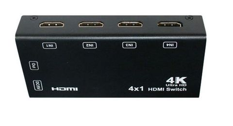 4-Port HDMI autoswitch infrared remote