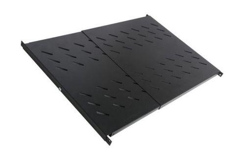 1RU Flex depth 450 to 850mm fixed universal shelf