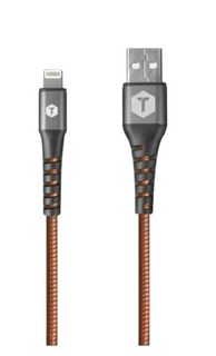 2.4m ToughTested PRO Armour Lightning Charger and Sync Cable