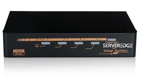 4-Port HDMI splitter Serveredge
