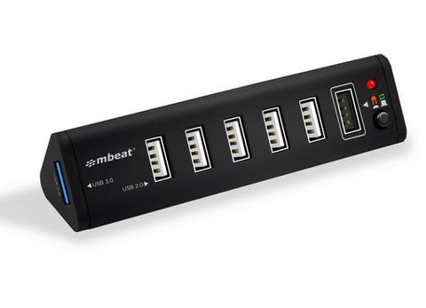 7-Port USB 2.0 powered hub