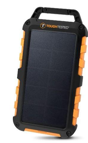 Tough Tested Solar10 Power Pack 10000mAh Solar/IP54/LED Light panel